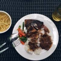 last meal before leaving